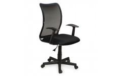 Кресло офисное ПК-6 ткань (Черный)