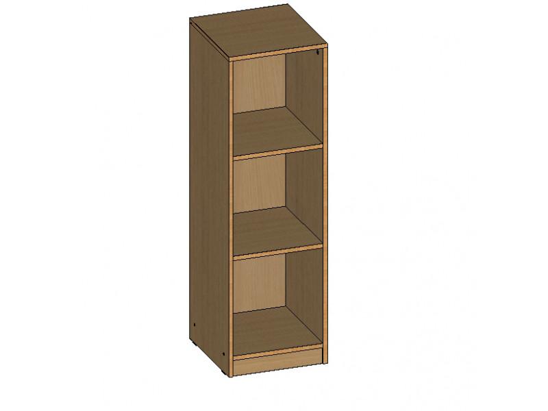 Шкаф для документов средний открытый 360х380х1180 мм (ДхГхВ)