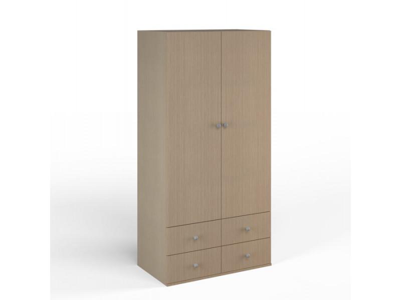 Шкаф широкий 900х504x1806 мм (ДхГхВ) (Ясень Шимо)