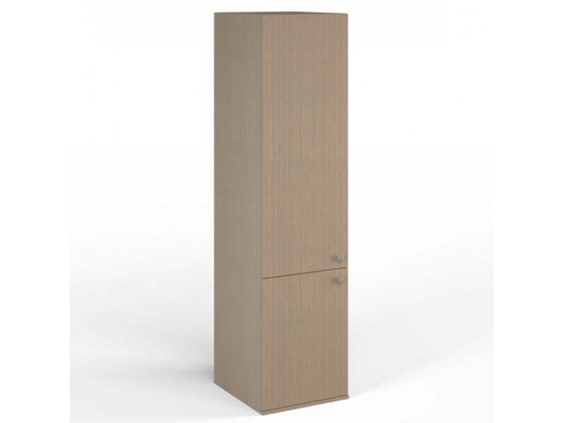 Шкаф узкий 458х504x1806 мм (ДхГхВ) (Ясень Шимо)