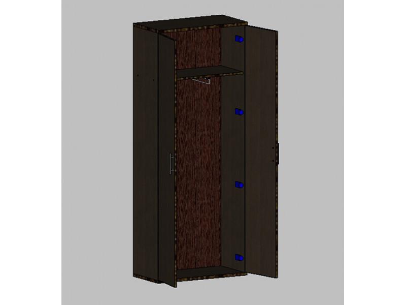 Шкаф для одежды в кабинет руководителя 760х380х1890 мм (ДхГхВ)