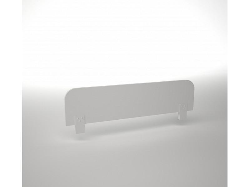 Ограждение для детской кроватки белое 800х160х196 мм (ДхГхВ)