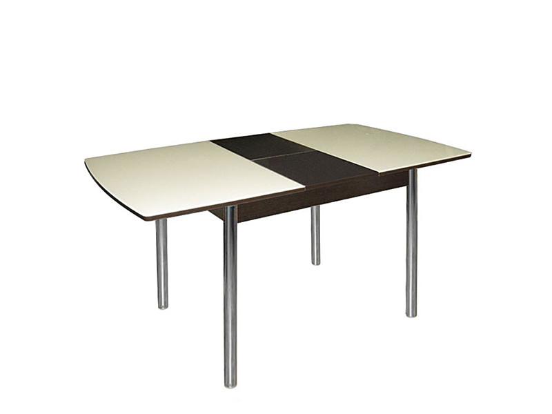 Стол стеклянный Стиль-3 раздвижной 1400(1100)х700х750 (ДхГхВ)