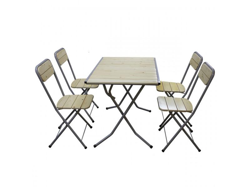 """Комплект мебели """"Летний день"""" (Стол Обеденный, 4 стула)"""