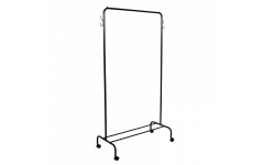 Вешалка гардеробная Радуга-2 на колесиках