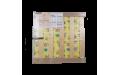 Раскладушка детская с матрасом Марфа М1 (нагрузка до 60кг) 1510х700х260 мм (ДхГхВ)