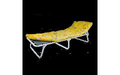Раскладушка детская с матрасом Соня М1 (нагрузка до 60кг) 1500х600х260 мм (ДхГхВ)