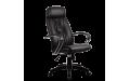 Кресло Пилот люкс (BP-7Pl) перфорированная кожа (Черный)