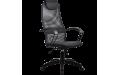 Кресло Галакси лайт (BP-8Pl) с черными подлокотниками ткань-сетка
