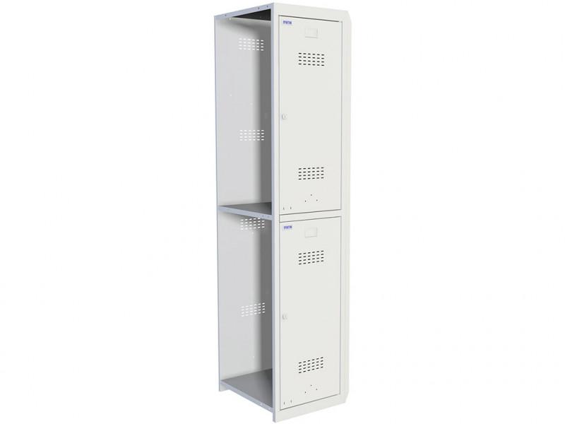 Металлический шкаф для раздевалок Практик ML 02-40 (Дополнительный модуль) 1830x400x500 мм