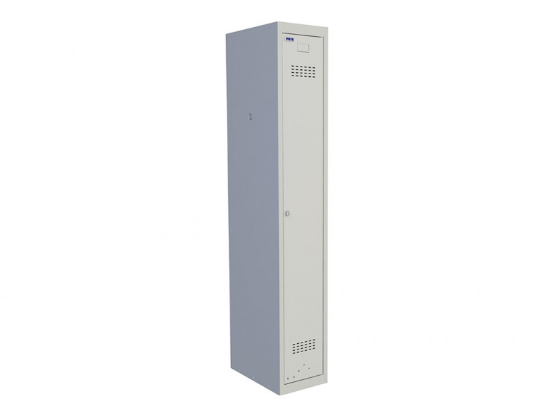 Металлический шкаф для раздевалок Практик ML 11-30 (Базовый модуль) 1830x300x500 мм (ВхШхГ)
