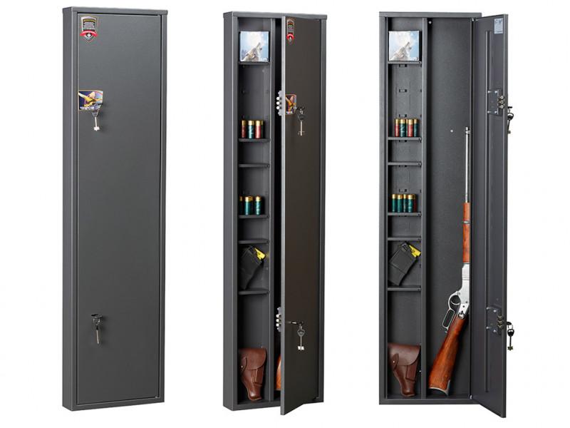Сейф оружейный AIKO ЧИРОК-1409 механический замок 1400x360x90 мм (ВхШхГ)