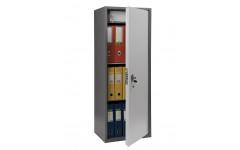 Бухгалтерский шкаф ПРАКТИК SL-125Т EL кодовый замок 460x340х1250 мм (ДхГхВ)