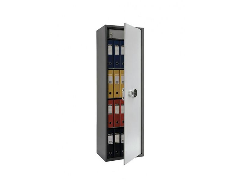 Бухгалтерский шкаф ПРАКТИК SL-150Т EL кодовый замок 460x340х1252 мм (ДхГхВ)