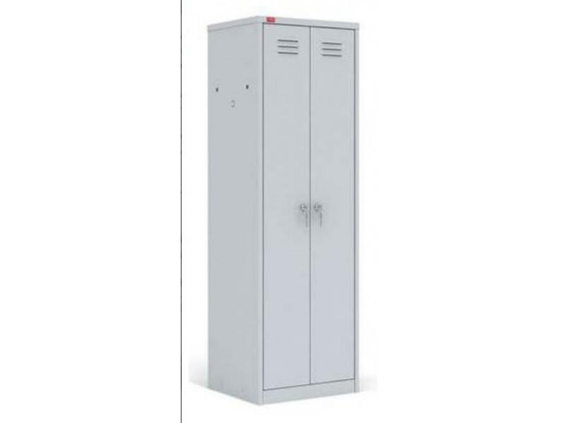 Металлический шкаф для одежды ШРМ-С 600х500х1860 мм (ДхГхВ)