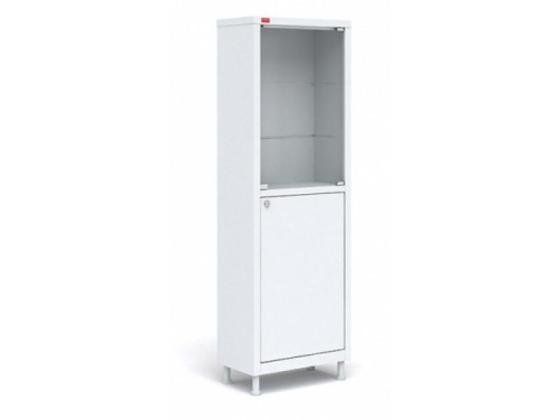 Шкаф медицинский M1 165.57.32 С 1655х570х320 мм (ДхГхВ)