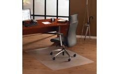 Коврик защитный для твердых напольных покрытий сверхпрочный, прямоугольник, 89×119 см