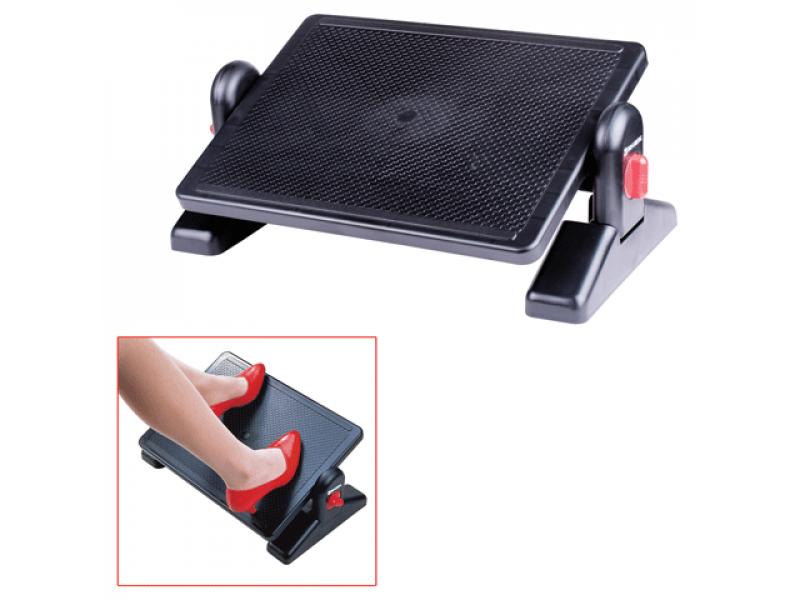 Подставка для ног Fix / Фикс офисная 415х300х90-123 мм (ДхГхВ)