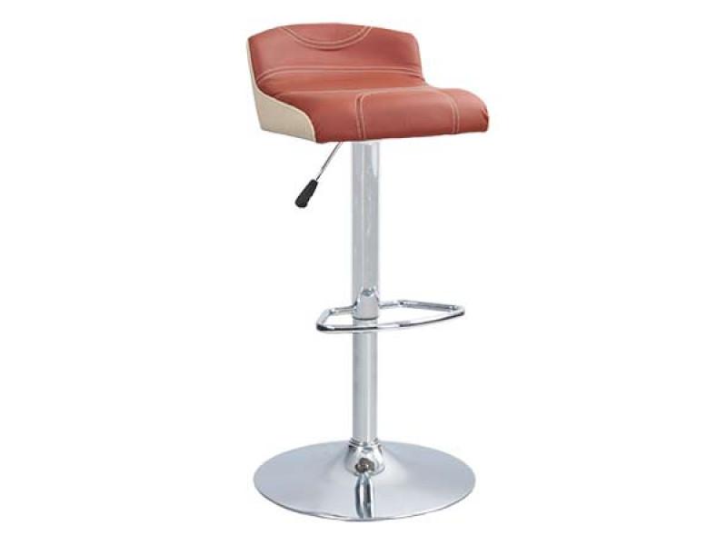 Барный стул Белла / Bella каркас хром экокожа