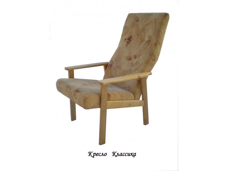 Кресло из массива березы Классика