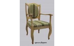 Кресло из массива березы Фараон
