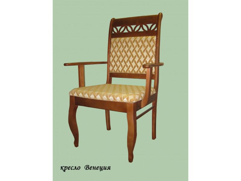 Кресло из массива березы Венеция