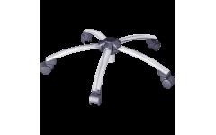 Крестовина матовый хром (диаметр 660 мм) с роликами в комплекте