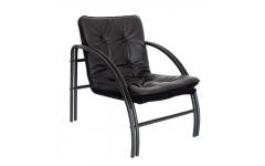 Кресло МК1  кожзам (Черный)