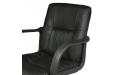 Кресло офисное ПК-1 экокожа (Черный)