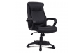 Кресло офисное РК-1 экокожа (Черный)