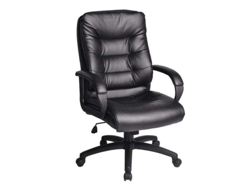 Кресло офисное РК-2 экокожа (Черный)