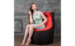 Кресло-мешок Трон с подголовником (Полиэстр) вес до 200 кг