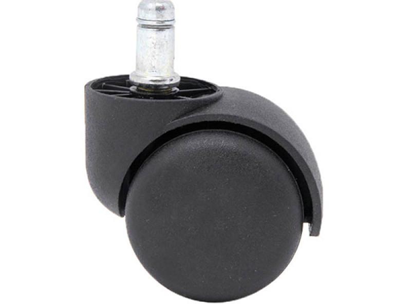 Пластиковый ролик для офисного кресла (1 шт)