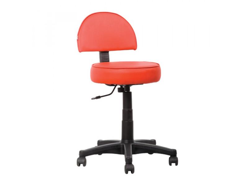 Кресло медицинское промышленное лабораторное Соло хай со спинкой