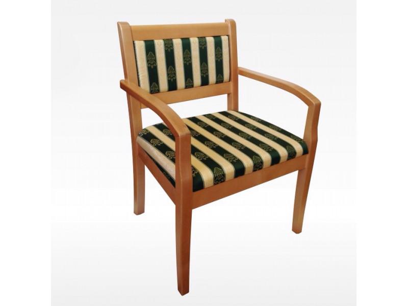 Кресло из массива березы Престиж