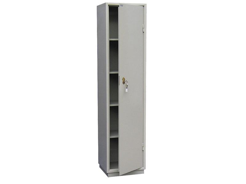Бухгалтерский шкаф КБС-05 механический замок 440x390х1850 мм (ДхГхВ)
