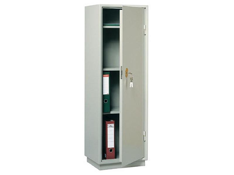 Бухгалтерский шкаф КБС-021 механический замок 420x360х1300 мм (ДхГхВ)