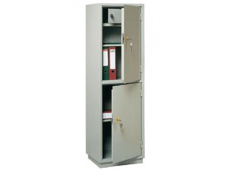 Бухгалтерский шкаф КБС-032т механический замок 470x395х1560 мм (ДхГхВ)