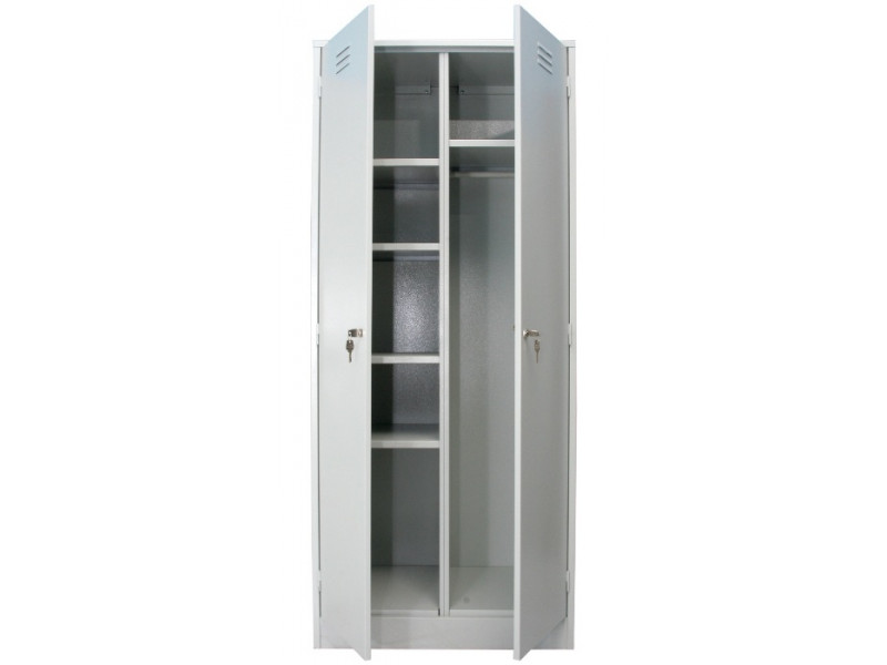 Металлический шкаф для одежды ШРМ-22/800У 800х500х1860 мм (ДхГхВ)