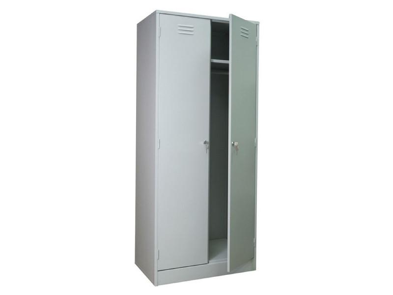 Металлический шкаф для одежды ШРМ-АК/600 600х500х1860 мм (ДхГхВ)
