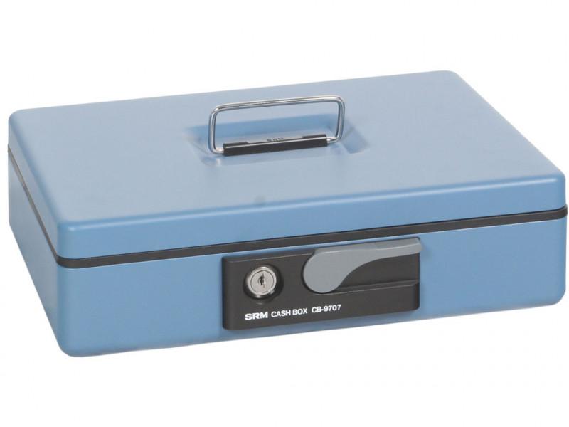 Кэшбокс CB-9707N 300x230х80 мм (ДхГхВ) Синий