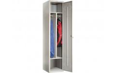 Металлический шкаф для одежды ПРАКТИК LS-11-40D 418x500х1830 мм (ДхГхВ)
