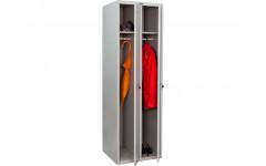 Металлический шкаф для одежды ПРАКТИК LS-21 575x500х1830 мм (ДхГхВ)