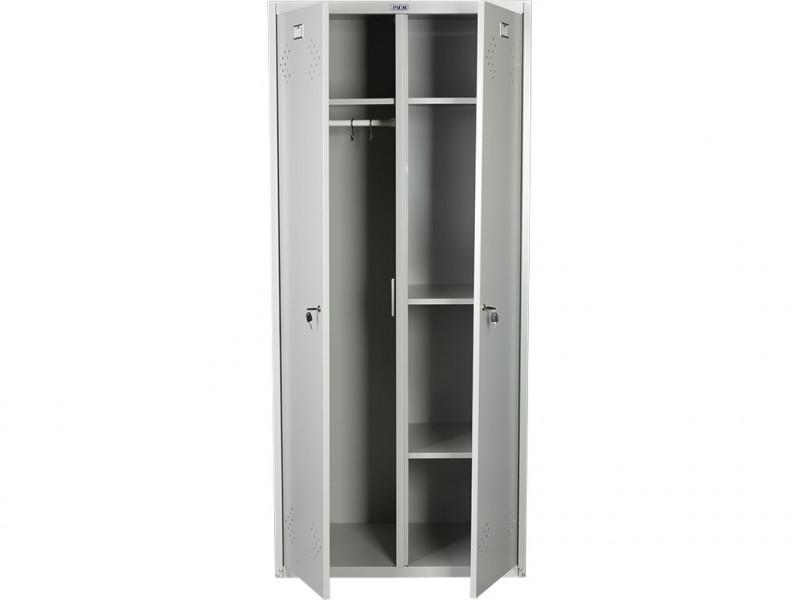 Металлический шкаф для одежды ПРАКТИК LS-21-80U 800x500х1830 мм (ДхГхВ)