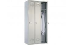 Металлический шкаф для одежды ПРАКТИК LS-31 850x500х1830 мм (ДхГхВ)