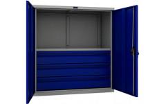 Шкаф инструментальный ТС 1095-001030 950x500х1000 мм (ДхГхВ)