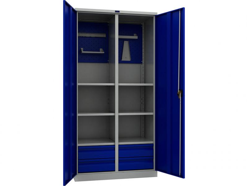 Шкаф инструментальный ТС 1995-120604 950x500х1900 мм (ДхГхВ)