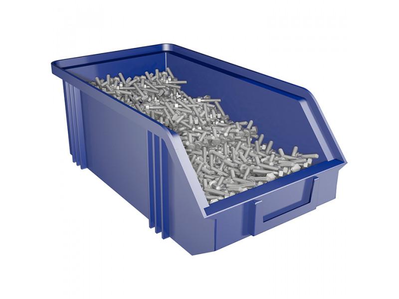 Ящик большой для хранения мелких грузов, метизов, запчастей