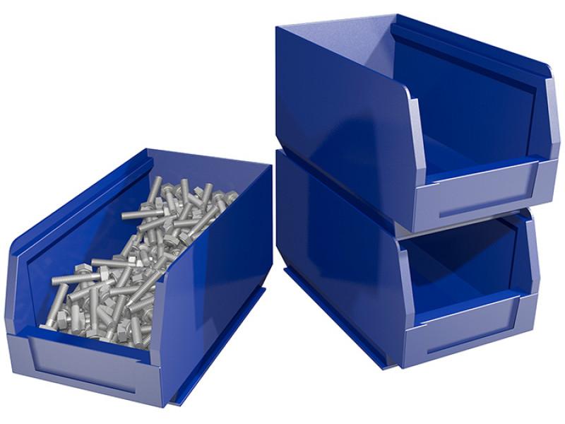 Ящик малый для хранения мелких грузов, метизов, запчастей