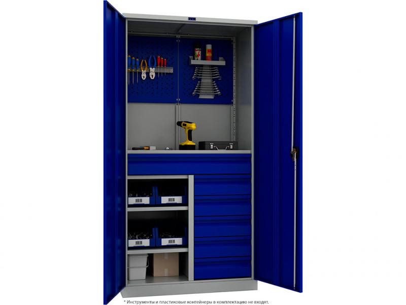 Шкаф инструментальный TC 1995-121215 950x500х1900 мм (ДхГхВ)